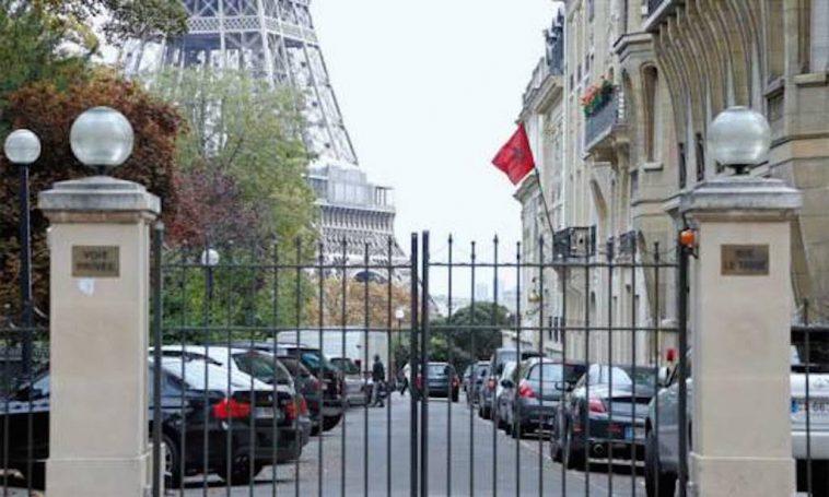 L ambassade du maroc paris souill e par deux t tes de porc - Consulat du maroc porte de versailles ...