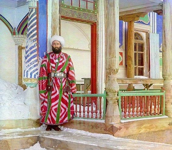 Un haut fonctionnaire à Boukhara