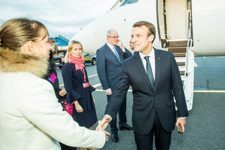Emmanuel Macron, Président France
