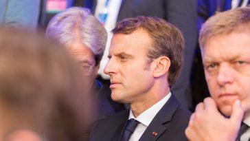 président de la france emmanuel Macron